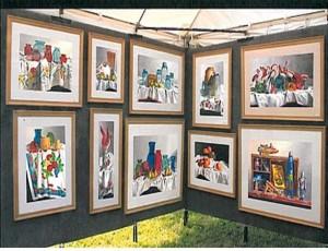 Michael Weber, Artist, Weber Watercolors, Port St. Lucie, FL